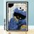 Cookie Monster Dictionary Page Art Print - Sesame Street Fan Art