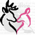 Crochet Deer Kiss graph