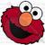 Crochet Elmo's Face Graph
