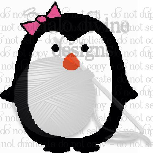 Crochet Pretty Penguin Graph