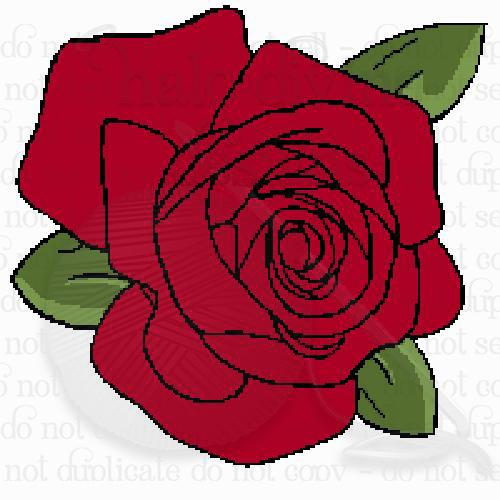 Crochet Rose Graph
