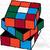 Crochet Rubik's Cube Twisted Graph
