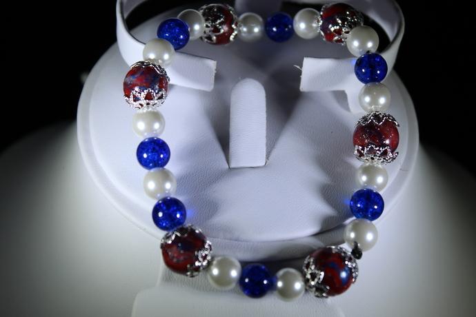 Stretch bracelet polymer clay free shipping USA only