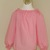 Girl Pink Top, Pink Long Sleeve Peasant Top 12m To 7, Toddler Pink Top, Long