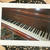 Vintage Piano Fine Art Photography Card, Keys, History, Antebellum Mansion,