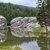 Sylvan Refections Fine Art Postcard, Lake, Black Hills, Custer State Park, S.