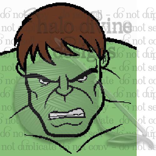 Crochet Hulk Graph