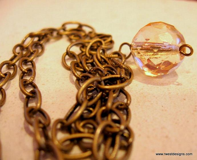 Vintage Look Ball & Chain