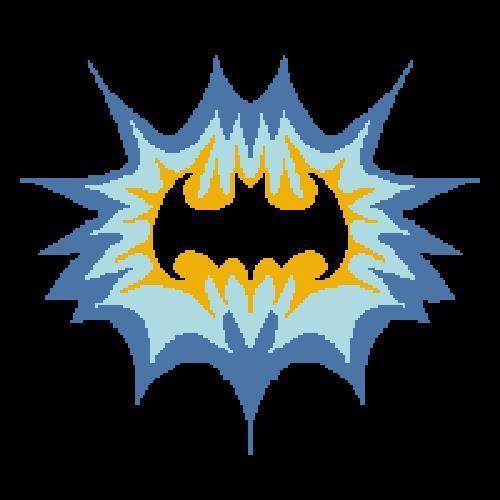 Crochet Batman Logo Graph