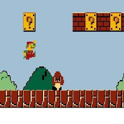Crochet Mario Bros Graph