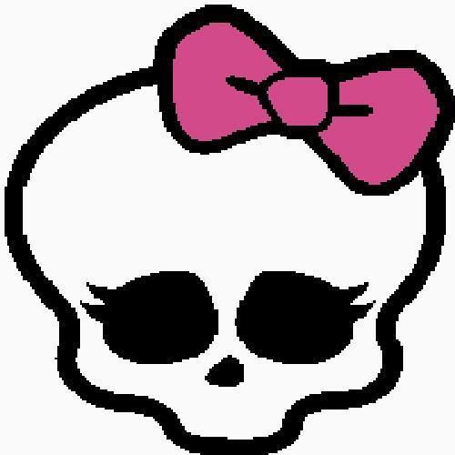 Crochet Monster High Skull Graph