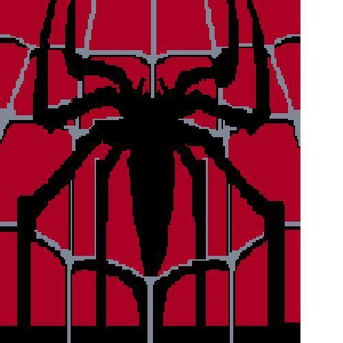 Crochet Spiderman Graph