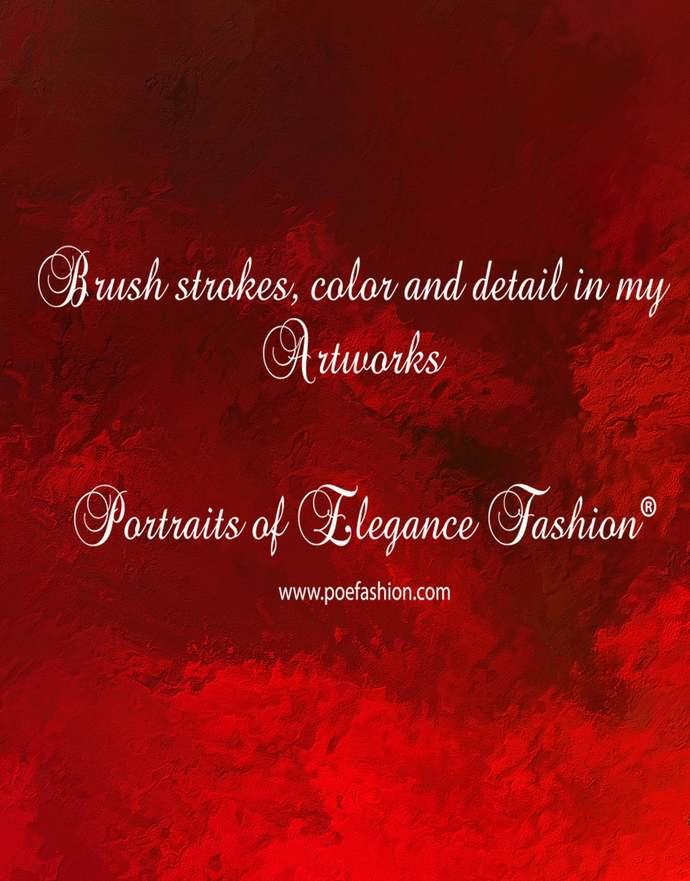 Yoga Headband hand painted, Ammolite 9, Royal Red, brown, scrunchy, neck warmer,