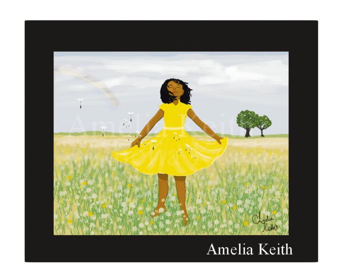 """Trust""    Fine Art Print, WallArt,by Amelia Keith    Nice Gift"