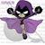 Crochet Raven from Teen Titans GO Graph