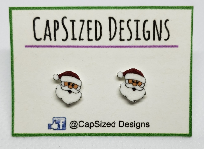 Santa Novelty Stud Earrings