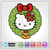 Hello Kitty Friends Christmas SVG / Instant Download / Digital Clipart / Cutting