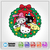 Hello Kitty Christmas Wreath SVG / Instant Download / Digital Clipart / Cutting