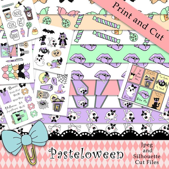 """""""Pasteloween"""" Printable Download"""