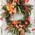 Fall DOor Wreath for Front Door, Outdoor Autumn Thanksgiving Halloween Wreath,