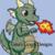 Baby Dragon Throw