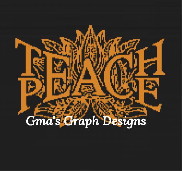 Teach Peace Throw