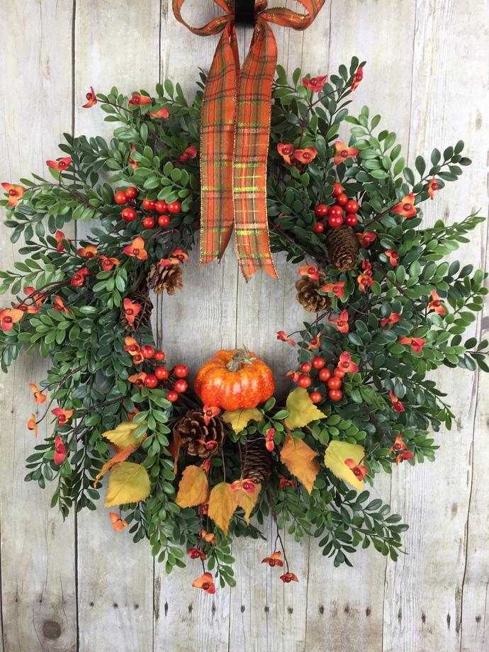 Fall Wreaths, Front Door Wreaths, Autumn Wreaths, Outdoor Door Wreaths, Fall