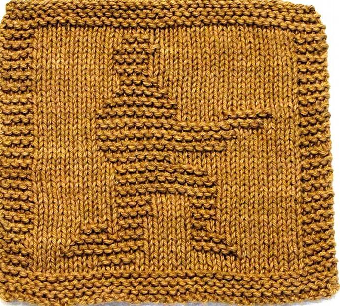Knitting Cloth Pattern  - AMERICAN SOLDIER - PDF