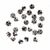 925 Sterling Silver 12 mm Round Flower Carved Beads Tassel Caps Finding