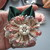 2 x SIGNED Shabby Chic Flowers - Handmade
