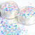 Sub Zero - Chunky White Pearlescent and Iridescent Glitter Mix