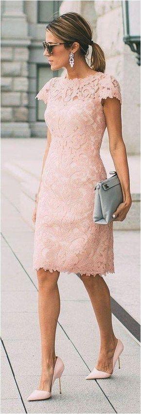 Mother of the bride dress Knee length dress