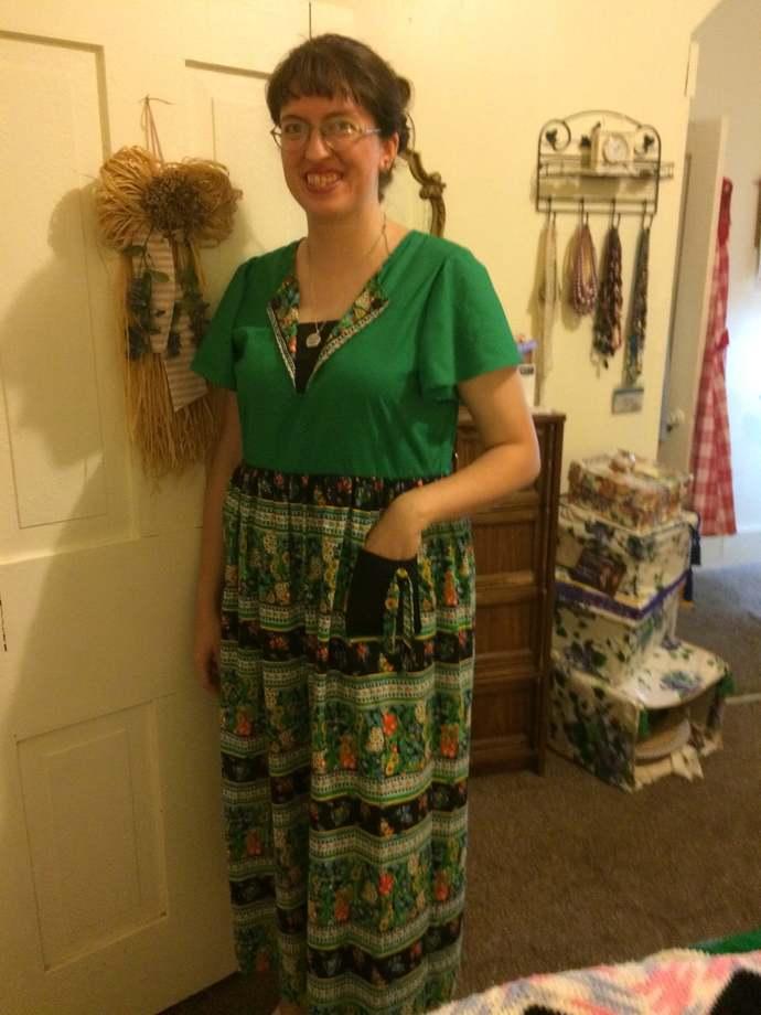 Budget Simple House Dress