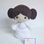 Princess Leia Inspired- Handmade Crochet Doll/ Plushie Toy/ Decoration