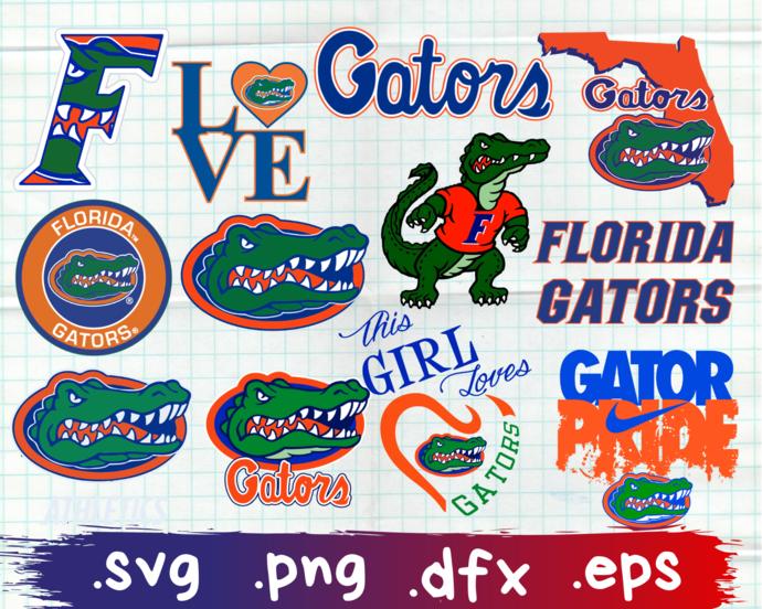 Florida Gators, Florida Gators svg, Florida Gators logo, Florida Gators clipart,