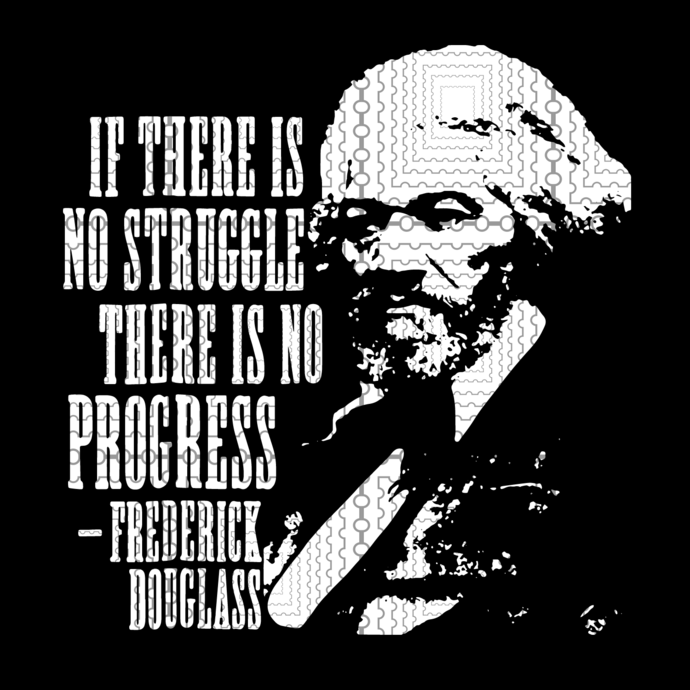 Frederick Douglass Quote Black History Month T-Shirt, Black History Month,