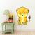 Lioness - Leeuwyfie - Safari Animals Series - Wall Decal - Great For Nurseries &