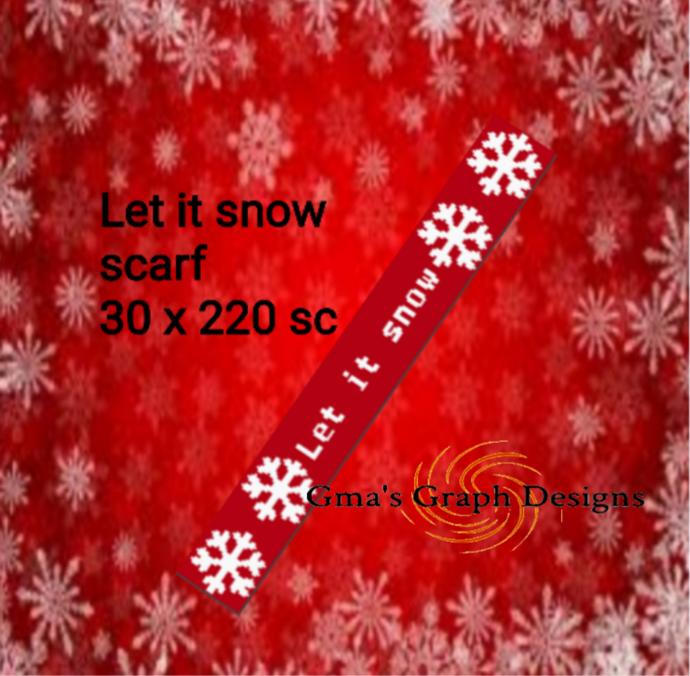 Let it Snow Scarf