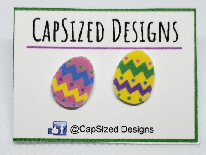 Easter Eggs Novelty Stud Earrings