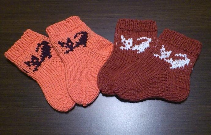 Baby socks, Children's knitted socks, children's socks, winter socks, children's