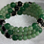 Green Jade & Black Onyx Beaded Bracelet