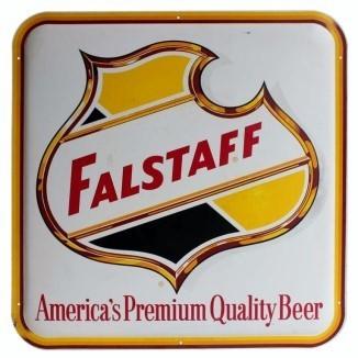 New Orleans Falstaff Bottled Beer Label Aint Dere No More Handmade Coaster Gift