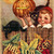Halloween Boy and Black Cats Digital Collage Greeting Card2384