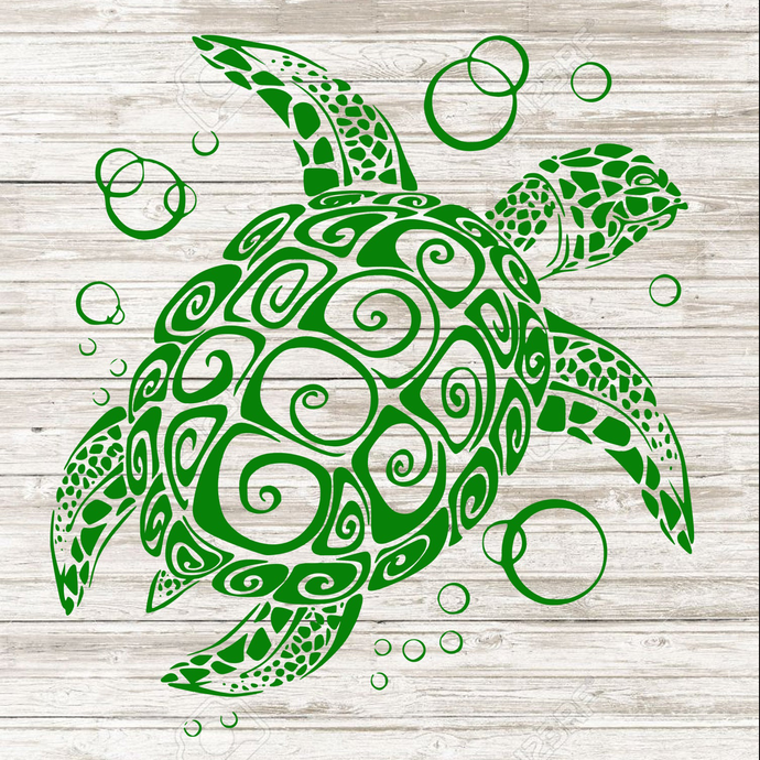 Sea Turtle, SVG, PNG, EPS, Dxf Digital files only, Cricut, Silhouette, summer,