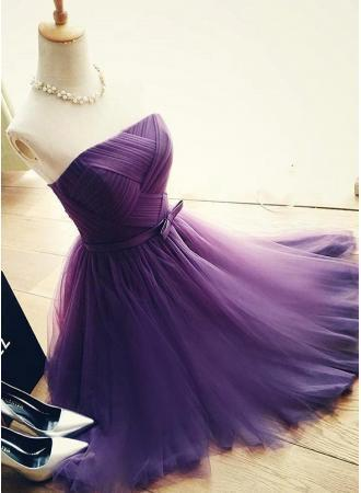Lavender Homecoming Dresses A Line Homecoming Dresses