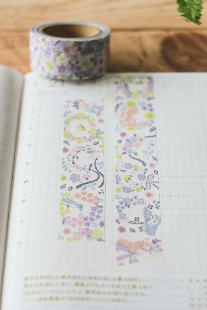 Papier Platz x  umemarii washi tape - 2cm wide masking tape 7m
