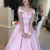 Cheap prom dresses Prom Dresses Long party dress pink Homecoming Gowns short