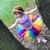 Rainbow Birthday Tutu - Kids Tutu - Adult Tutu - Rainbow Tutu - Mommy and Me