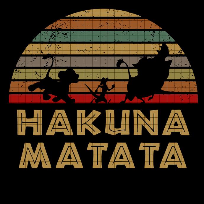 Hakuna Matata Disney The Lion king svg, Hakuna Matata svg, Disney svg, Lion king