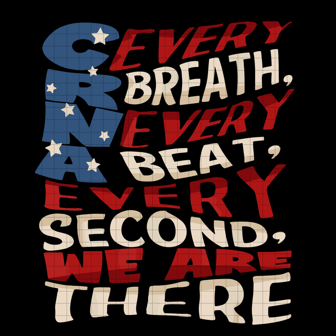 CRNA week patriotic gift for Nurse Anesthesiologists svg, png dxf svg files for